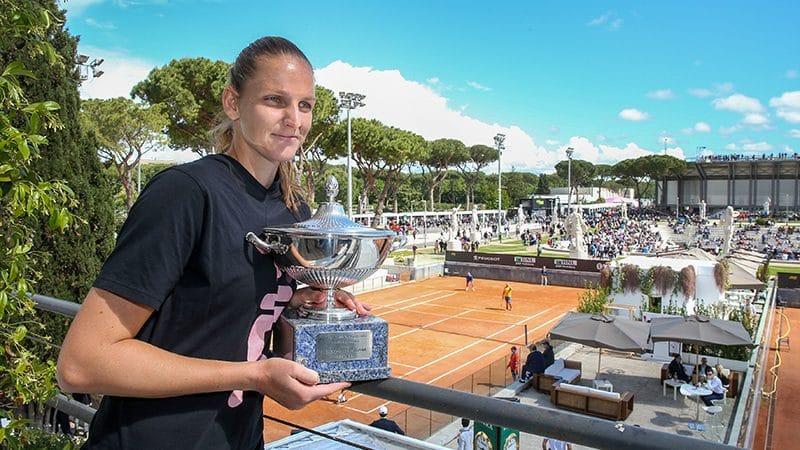 Karolina Pliskova a Roma