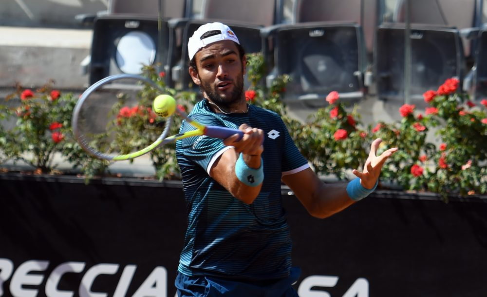 Matteo Berrettini (foto Adelchi Fioriti)