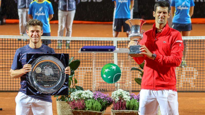 Djokovic Claims Fifth Rome Title Makes Masters 1000 History Internazionali Bnl D Italia