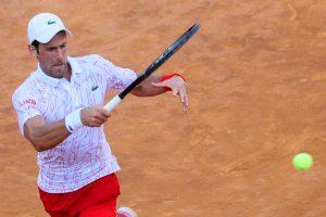 Djokovic Survives Krajinovic Test Internazionali Bnl D Italia