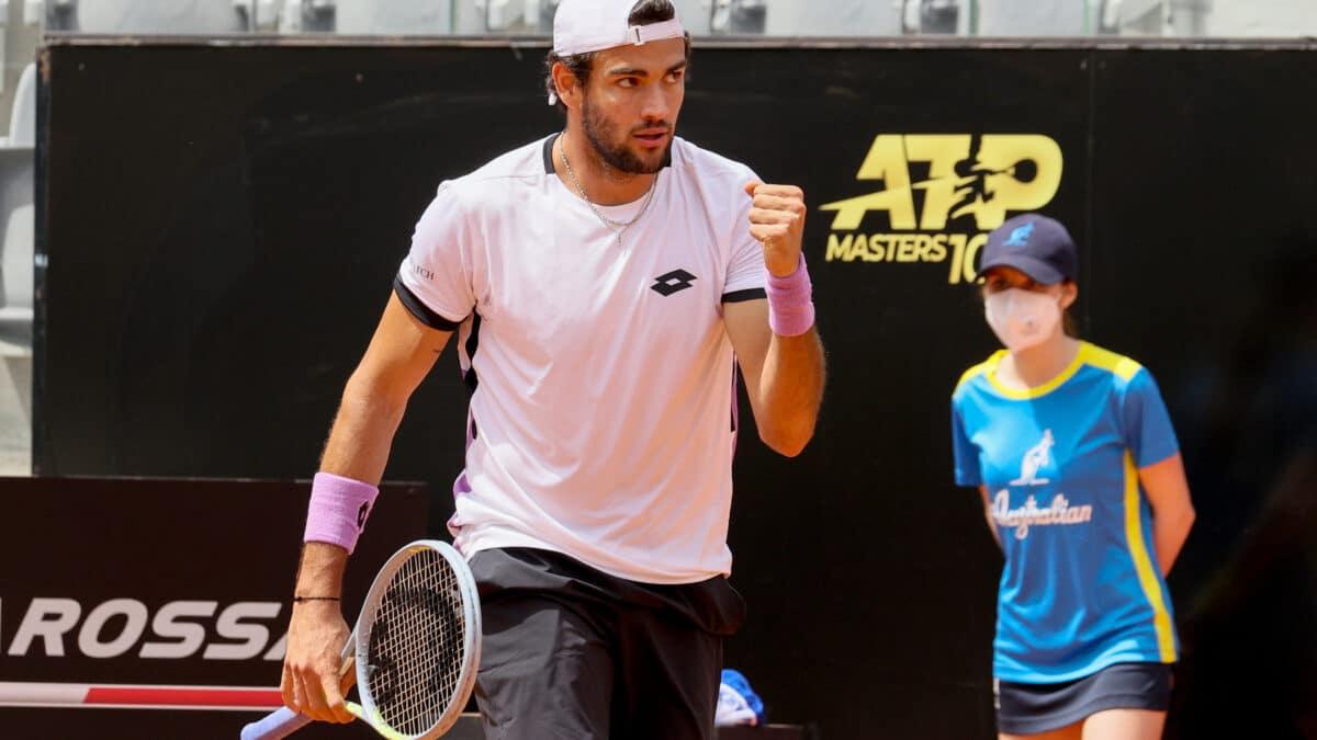 Matteo Berrettini (foto Sposito)